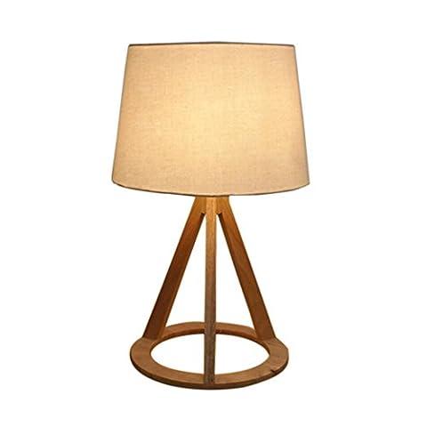 LH&M Nordic Schlafzimmer Studie Holz Kunst Tisch Lampe Haus Dekoration