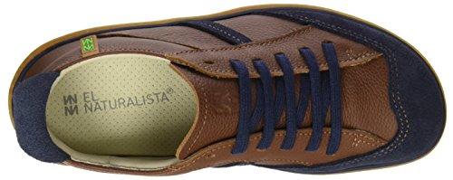 El Naturalista N5273 Soft Grain Lux Suede El Viajero, Stringate Derby Scarpe Unisex – Adulto Marrone (Wood / Ocean)
