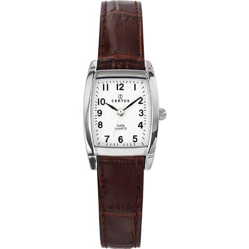 Certus - Reloj analógico para mujer de cuero