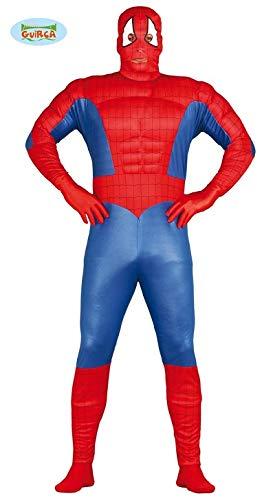 Costume vestito abito travestimento carnevale halloween adulto uomo ragno, spiderman - taglia m (48-50)