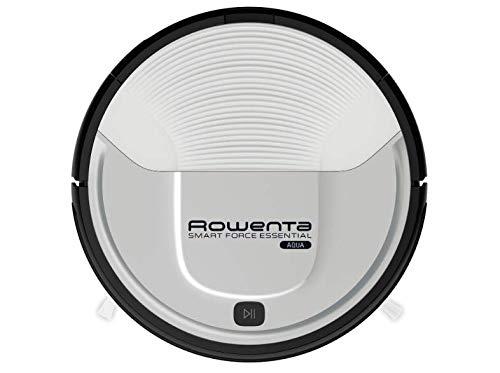 Rowenta Smart Force Essential Aqua RR6976 - Robot aspirador 2 en 1, aspira y friega, con sensores anticaída, bateria ión-litio de 150 minutos de autonomía (Reacondicionado Certificado)