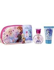 Disney Reine des Neiges Frozen Coffret pour enfant  Trousse Eau de Toilette 50 ml + Gel Douche 100 ml