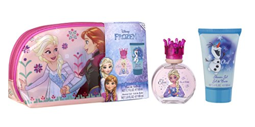 Frozen set di profumo, gel doccia e portatrucchi - 150 ml