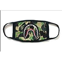 Mode A Badeaffe Bape Shark Schwarz Gesichtsmaske Camouflage Mund-Muffel BAPE Abdeckung (A) preisvergleich bei billige-tabletten.eu