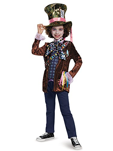 Disguise Mad Hatter Classic Alice Through The Looking Glass Movie Disney Costume, Small/4-6 by Disguise