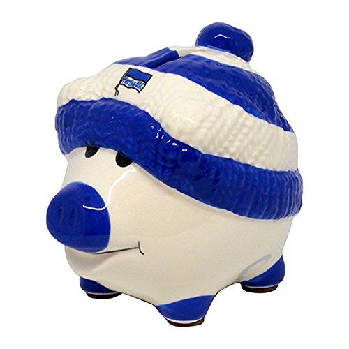 Hertha BSC Berlin - Sparschwein mit Mütze weiss blau
