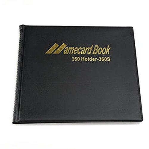 Ardisle 360nome azienda Titular della scheda libro nero libro cartella Cartella Folder file Pouch - Cartella Pouch