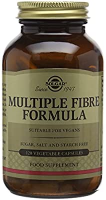 Solgar Multiple Fibre Formula Vegetable Capsules - Pack of 120 by Solgar
