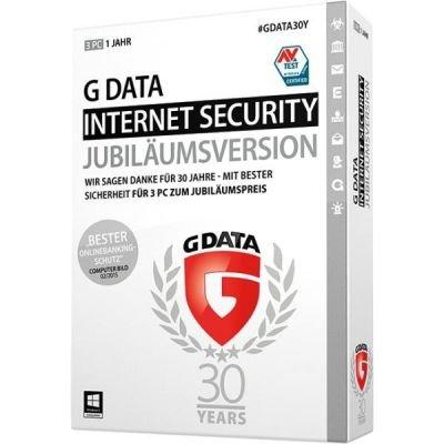 G Data Software AG G Data Internet Security (Jubiläumsversion) - 3 PCs / 1 Jahr