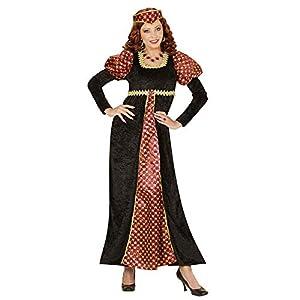 WIDMANN- Policía Virgo de Edad Medieval Disfraz para Mujer, Multicolor, S (00301)