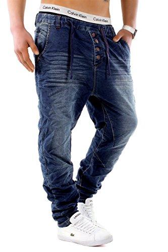 Herren Jeans JoggJeans Backyard Freestar ID1242 Slim Fit (Gerades Bein), Farben:Dunkelblau-3;Größe Jeans / Hosen NEU:W33