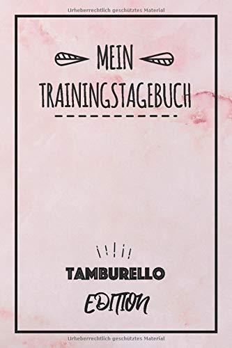 mein trainingstagebuch tamburello edition: halte den verlauf deines tamburello trainings fest - sport journal   trainingslogbuch & tagebuch   trainingsjournal mit 120 seiten