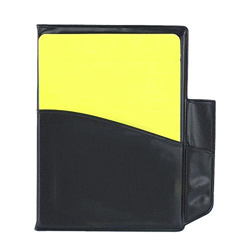 Pinzhi Fußball Sport Trainer Schiedsrichter PU Leder Case rote Karte gelbe Karte Bewertungsbögen