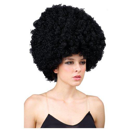 Riesiger Locken Afro Halloween Verkleidung Karneval Perücke Haare Accessoire (Ideen Afro Halloween-kostüme)