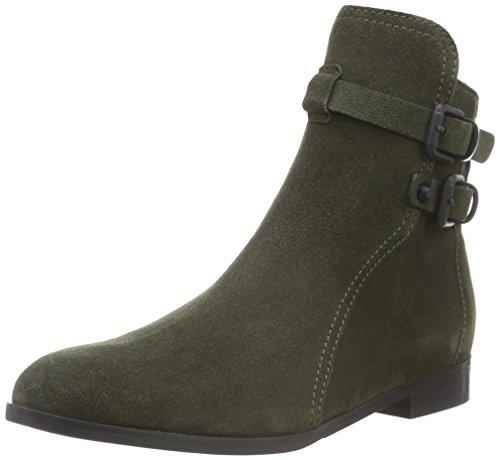 Kennel und Schmenger Schuhmanufaktur Damen Taylor Kurzschaft Stiefel Mehrfarbig (olive/black 255)