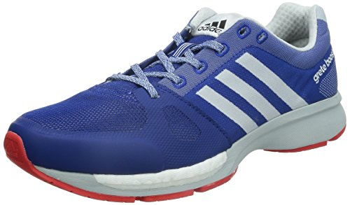 adidas Men's Grete 30 Boost M Collegiate Royal, Ftwr White and Bright Red Mesh Running Shoes - 8 UK  available at amazon for Rs.5399