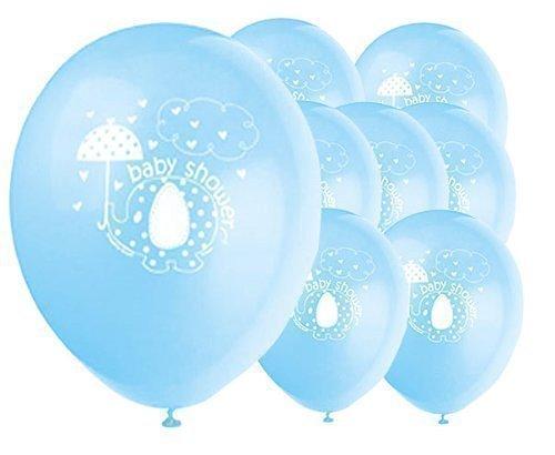 ,7cm CO Umbrellaphants blau Baby Dusche
