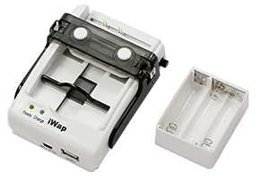 JAY-tech IUC-99 Chargeur multifonction Walk-Power pour batterie Li-Ion