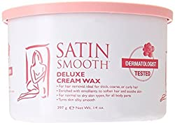 Satin Smooth Deluxe Cream Wax, 14 Ounce
