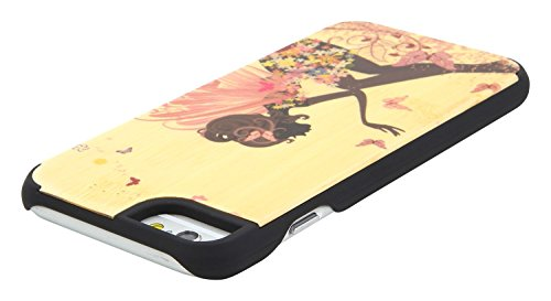 """SunSmart Klassische hölzerne Abdeckung iPhone 6 Natural Wood Schutzhülle für iPhone 6 4.7"""" --23 09"""
