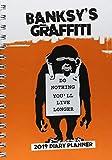Banksy 2019 – Taschenkalender: Original BrownTrout-Desk Diary [Wochenkalender]