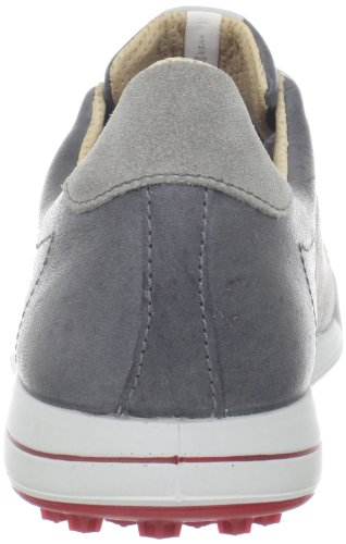 Ecco Mens Street Shoes Titanium/Wild Dove/Brick