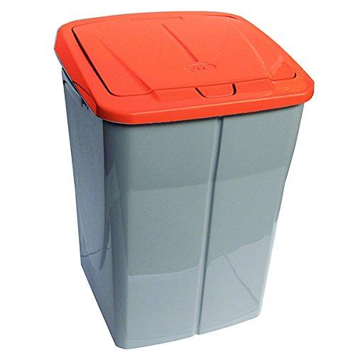 Mondex Consumo PLS 8087-19 Roll Top-Cubo de Basura de Reciclaje de Cocina con Tapa de plástico 36 x...