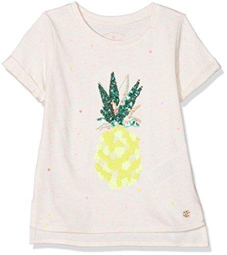 TOM TAILOR Kids Mädchen 1/2 T-Shirt, Weiß (Cloud Dancer White 1610), 104 (Herstellergröße: 104/110) - Dancer Kinder-t-shirt