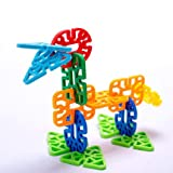 #10: FunBlast Bricks Building Blocks,Creative Educational Toys - Do It Yourself Colorful Plastic Building and Construction Toys, Available in Different Variants (Geometry Snowflake)