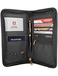 Swiss Military Black Travel Wallet (TW4)
