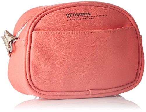 Bensimon - Round Bag, Borsa a tracolla Donna Arancio (Corail)