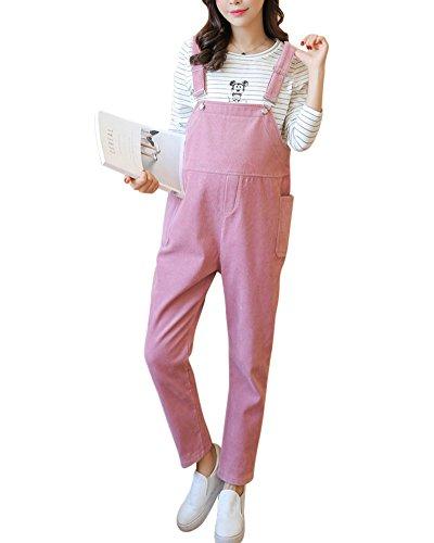 Umstandshose Umstands Latzhose Schweißhosen Mit Bauchband Pink L
