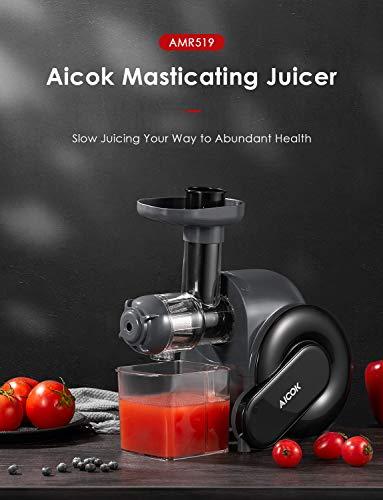 Entsafter – Obst und Gemüse Slow Juicer Bild 6*
