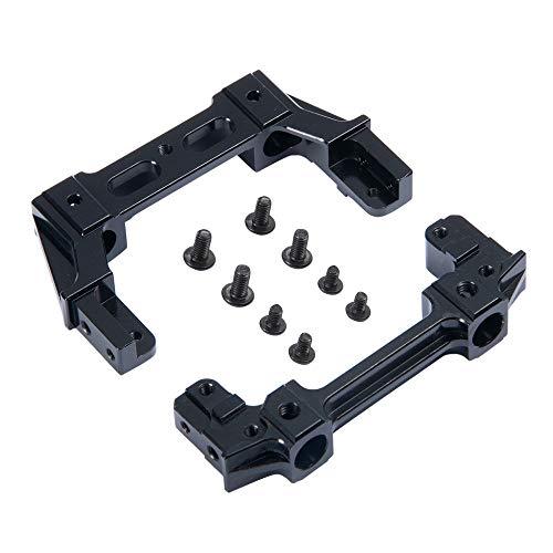 XUNJIAJIE Aluminum Vorderseite/Rückseite Plate Bumper Mount für Axial SCX10-ii 90046 1/10th CrawlerCar -