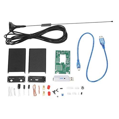 Sharplace Rtl2832u + R820t 100khz-1.7ghz UV HF RTL-SDR USB Tuner Empfänger Receiver + Antenne Hf-antennen-tuner