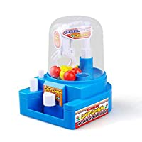 Jspoir Melodiz Candy Grabber Machine, Mini Doll Machine Grab Ball Catcher Game Kids Toys Children Developmental Toy Claw Grabber Toys Candy Catcher Tool Kit Party Arcade Machine Christmas