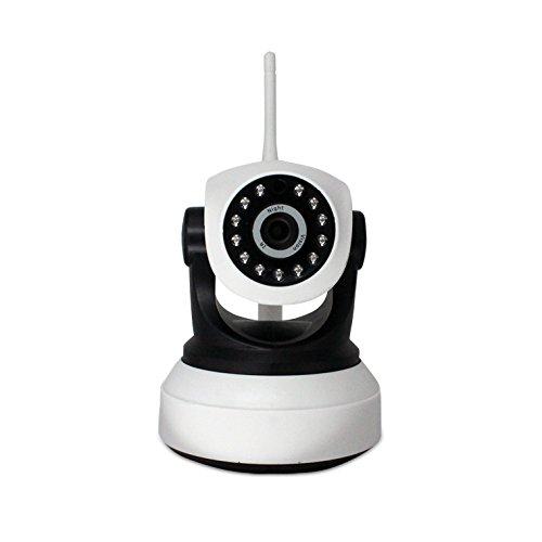 720P Hd 1 Million Pixel White Ip-Video-Überwachungssystem Kamera Des Hauptsicherheitssystem , Zwei-Wege-Sprachsprech / Fernsteuerung Versteckte Ip Wifi Kamera Lorex-kameras