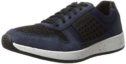 Camel Active Jump 11, Sneakers Basses Homme Bleu (Midnight/Black 03)