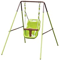 Baby Toddler Garden Swing Childrens Kids Indoor Outdoor Nursery Activity Toy Safety Harness