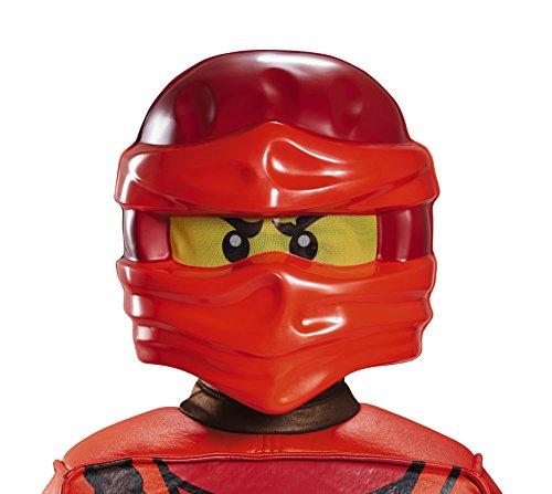 Ninjago Skylor Kostüm - Lego - Ninjago - Maske Kai (rot) Kinder Einheitsgröße