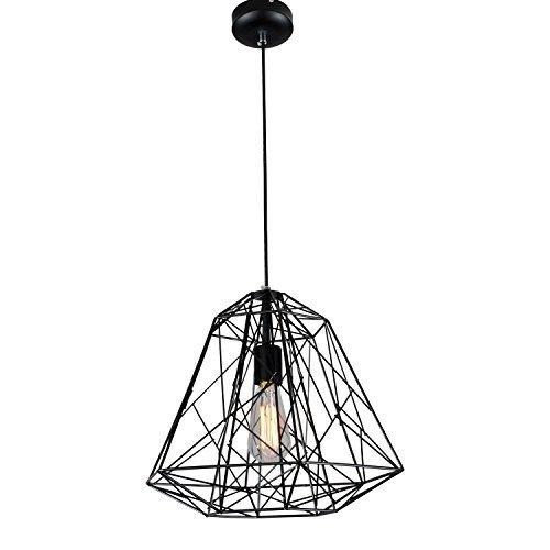 Maxmer Luz Vintage Colgante Lámpara Industrial de Techo Lámpara Hierro Estilo Nórdico