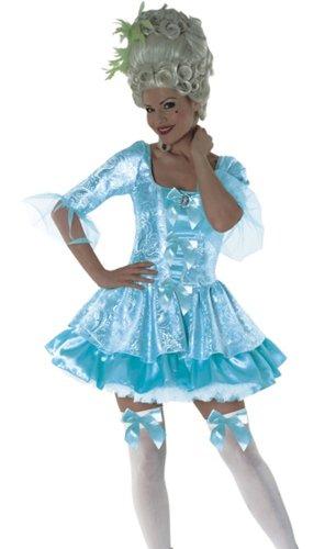 Marie Antoinette Queen Blau-Kostüm, Größe M ()