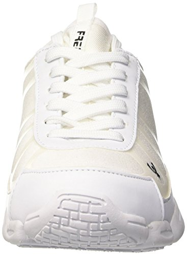 FREDDY Gym Fit, Baskets Hautes Femme Bianco (Bianco)