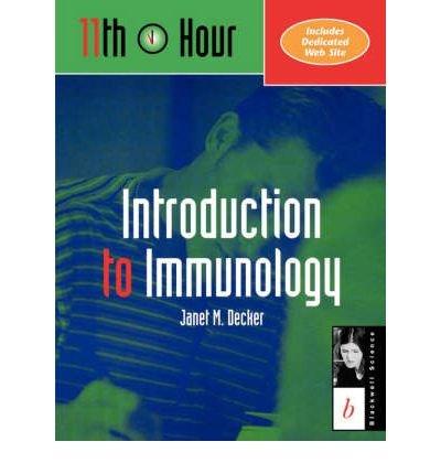 [(Immunology)] [Author: Janet M. Decker] published on (January, 2000) par Janet M. Decker