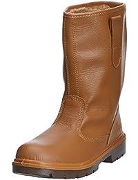 Warrior Workwear 0118mmb41/10Wasserdicht Rigger-Stiefel, Größe 10, Schwarz