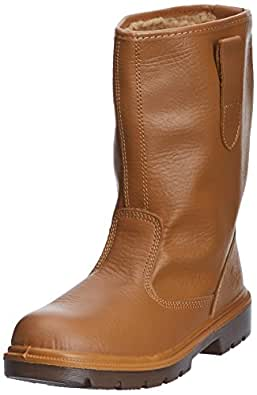 Dickies Lined Rigger Boot (FA23350) Tan Size 3