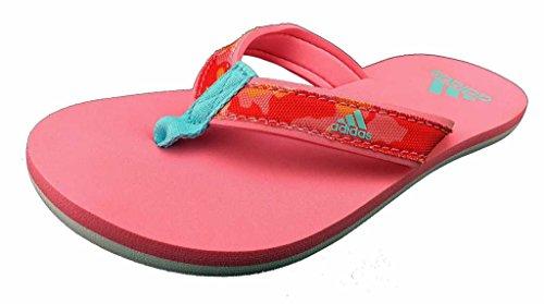 adidas Kinder-Unisex Beach Thong K Zehentrenner, Rosa (Rossen/Agucla/Rosbas), 33 EU (1 UK)
