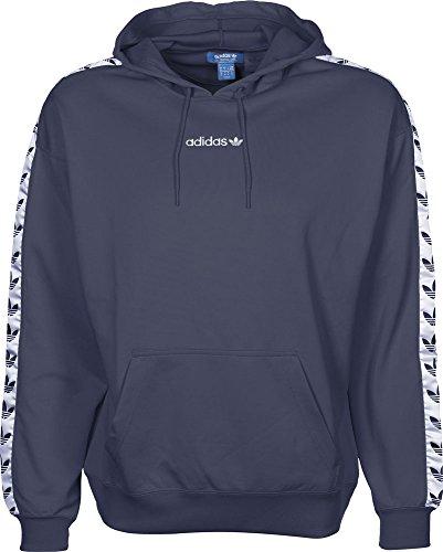 adidas Herren Tnt Tape Hoody Sweatshirt Blue/Azutra/Blanco