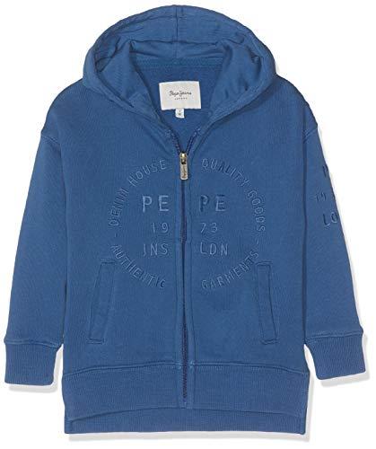 Blaue Kinder-jeans (Pepe Jeans Jungen Gil Sweatshirt Blau (Steel Blue 563) 3 Jahre)