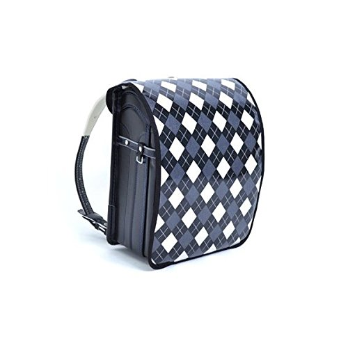 Exciting school satchel cover Argyle black made in Japan N4109900 (japan import) Argyle-cover
